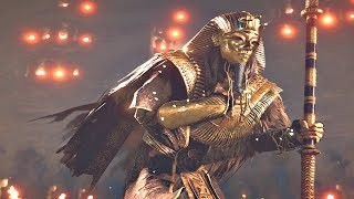Assassins Creed Origins: Curse of The Pharaohs DLC - All Pharaoh Boss Fight & Ending