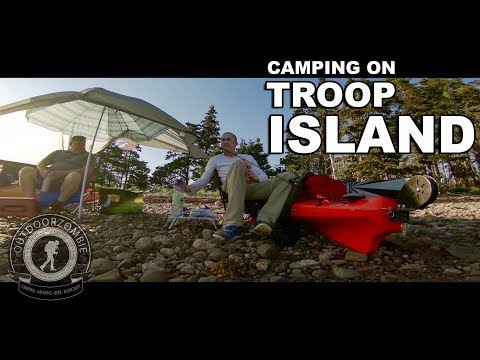 Camping on Troop Island - episode 134