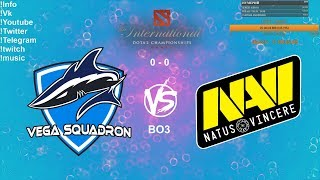 🔴 [RU] Vega Squadron VS Natus Vincere - The International 2019: CIS Qualifier Playoff BO3