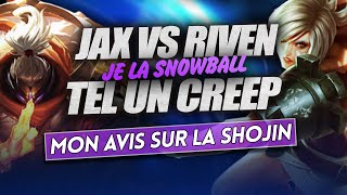 [FR] ALDERIATE SOLO Q - JAX VS RIVEN - PATCH 9.13 - MES RUNES SUR JAX