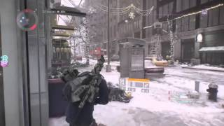 Tom Clancy's The Division - Nasir got shot in the ass