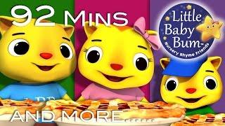 Three Little Kittens | Part 2 | Plus Lots More Nursery Rhymes | 92 Minutes from LittleBabyBum!