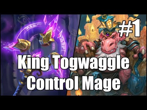 [Hearthstone] King Togwaggle Control Mage (Part 1)