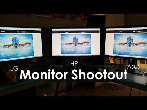 Monitor Shootout HP Z27X vs Asus PA279Q vs LG 34UM95-P