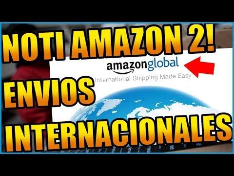 AMAZON HABILITA ENVÍOS INTERNACIONALES! ¿Realmente Conviene?