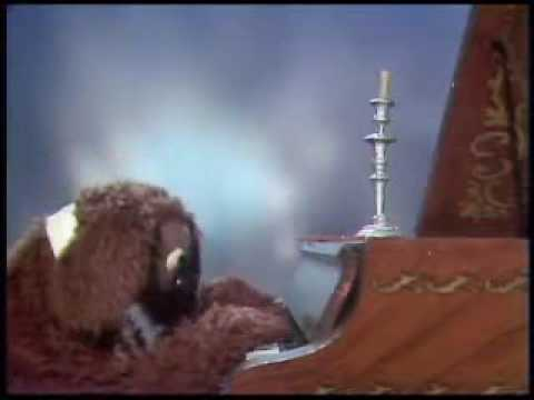 Rowlf the Dog and Fozzie Bear with a candelabra Video