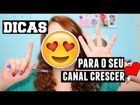 6 DICAS PARA O SEU CANAL CRESCER thumbnail