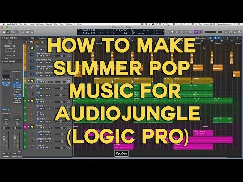 How to make Summer Pop Music for Audiojungle (Logic Pro)