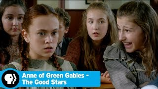 ANNE  OF GREEN GABLES - THE GOOD STARS | Anne's Academic Rivalry with Gilbert | PBS
