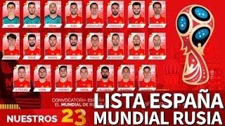 Lista de España para el Mundial de Rusia 2018 | Diario AS