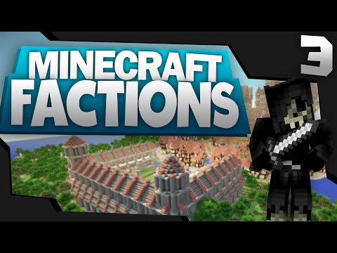 Minecraft: FACTIONS Let's Play #3