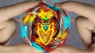 B--129 CHO-Z ACHILLES 00 DM Beyblade Burst Turbo Review!