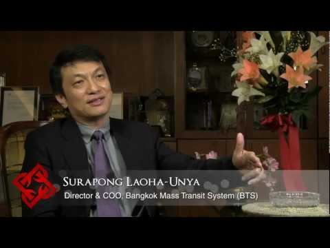 Bangkok Mass Transit System (BTS) Director & COO Surapong Laoha-Unya on network expansion