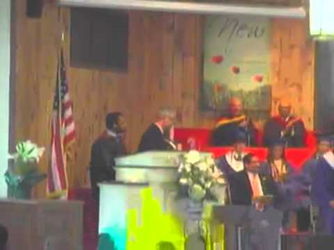 Union Springs Academy Commencement Service 2013