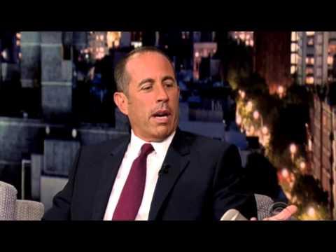 Jerry Seinfeld and David Letterman talk about Miranda Sings