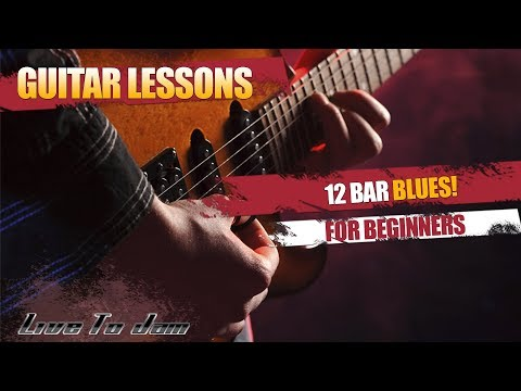Learn How To Play Blues Guitar Lessons - 12 Bar Blues For Beginners