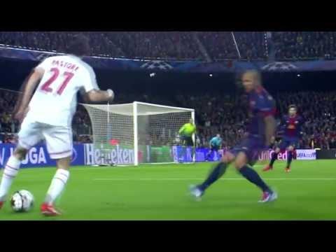 Javier Pastore vs Barcelona