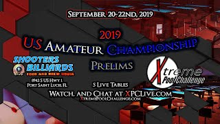 Table 20 - 2019 U.S. Amateur Championship Prelims @ Shooters Billiards Day 3 Sunday