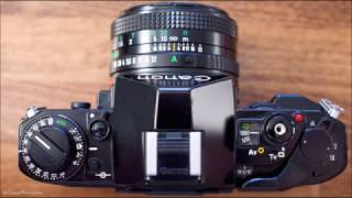 How to Load 35mm Film into Canon A1