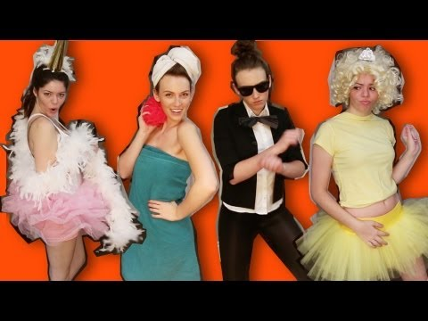 15+ LAST MINUTE UNIQUE HALLOWEEN COSTUME IDEAS