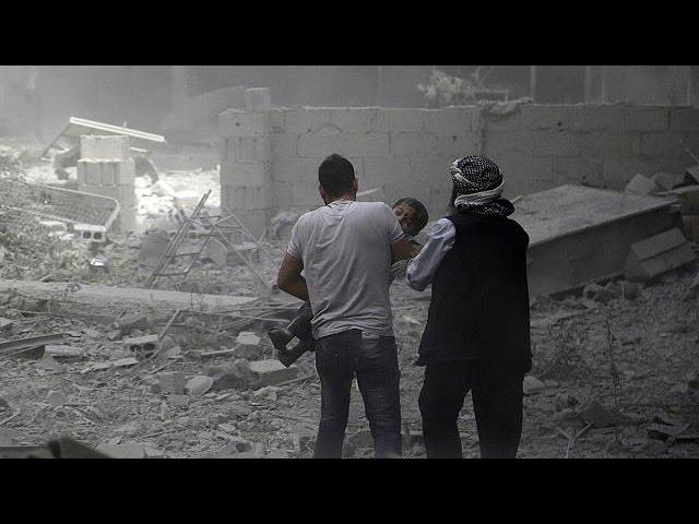ارتش سوریه شهرهای سقبا و دوما را بمباران کرد