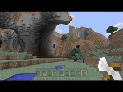 Minecraft Xbox 360 1.8.2 #2 - Exploring the Ravine and Mushroom Farming?