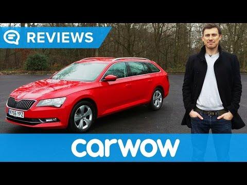 Skoda Superb Estate 2017 review   Mat Watson Reviews