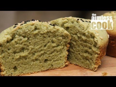 Matcha Mochi Cakes