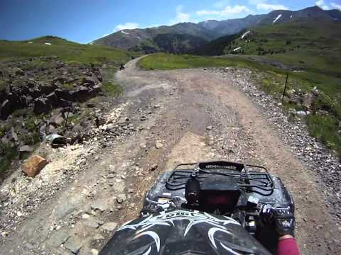 Ouray Colorado ATV Trail Rides July 2011 – Part 18 – Mineral Creek Access To Alpine Loop & Lake City