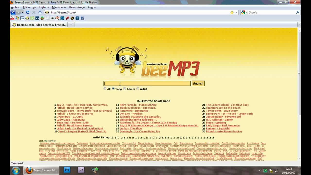 descargar directa canciones: