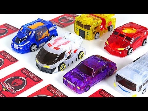 Turning Mecard W S2 new product! Dora, Araghe, Trem, Pukin, Volca, Bucky, Wing Lion! - DuDuPopTOY