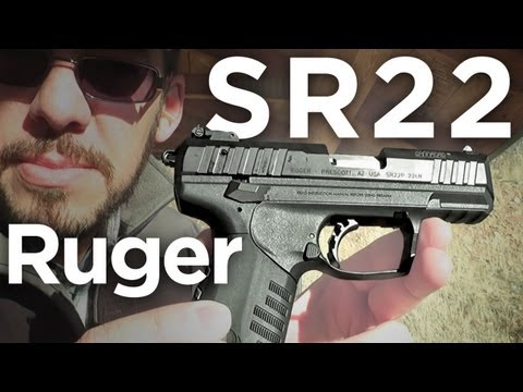 Shooting the Ruger SR22: Gunnies Range Day
