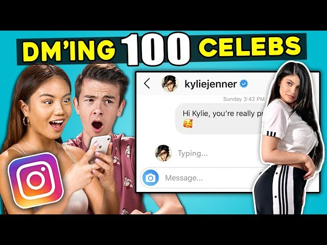 Teens React To DM'ing 100 Celebrities To See How Many Would Reply thumbnail