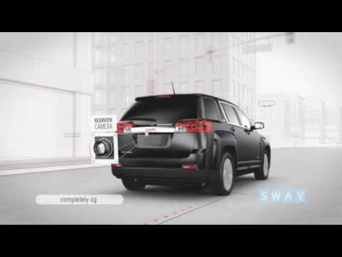 2010 GMC Terrain Drive-A-Tron  Standard Features from SWAY Studio