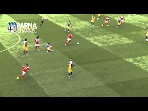 Steve Sidwell goal. Fulham vs Parma pre-season friendly 10/08/2013