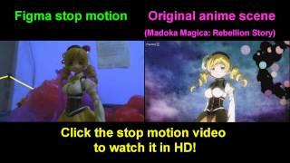 Absolute Configuration (Figma stop motion Vs Original anime scene)