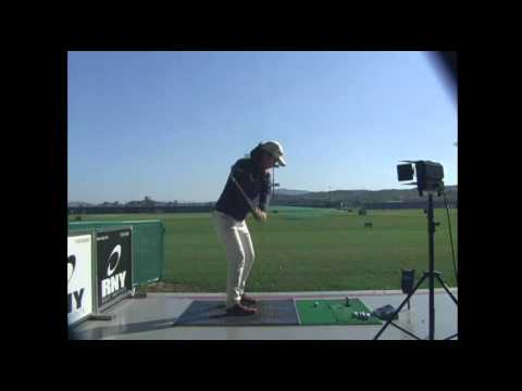 Hee Young Park Golf Swing - 6 Iron (Behind) 박희영 프로 스윙
