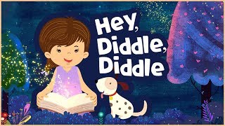 Hey, diddle, diddle - Animated Nursery Rhyme For Kids in English | Song For Children