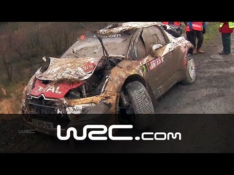CRASH: Mikko Hirvonen/ Jarmo Lehtinen @ Wales Rally GB 2013