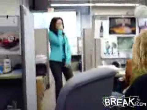 funny office gag Video