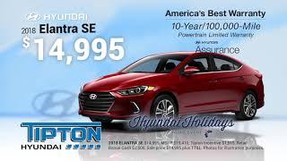 Tipton Hyundai - November Sales Specials