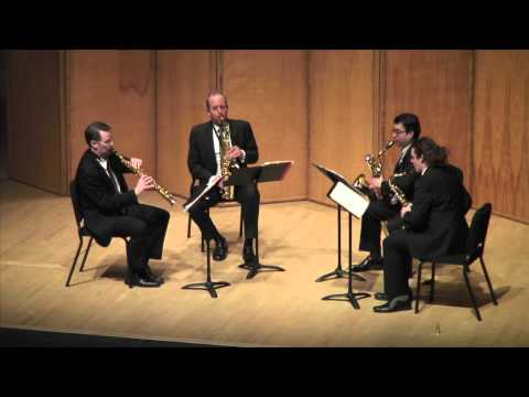 Noah Jenkins - Transfuse performed by PRISM Quartet