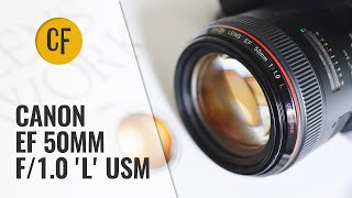 'L' for 'Legendary'? Canon 50mm f/1.0 'L' USM (1989-2002) lens review with samples