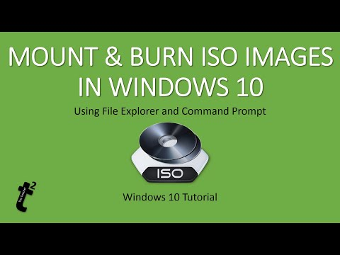 How To Burn A Downloaded Iso Files In Windows 7