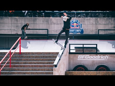Nyjah Huston, Curren Caples & More Throw Down at Red Bull Hart Lines 2016