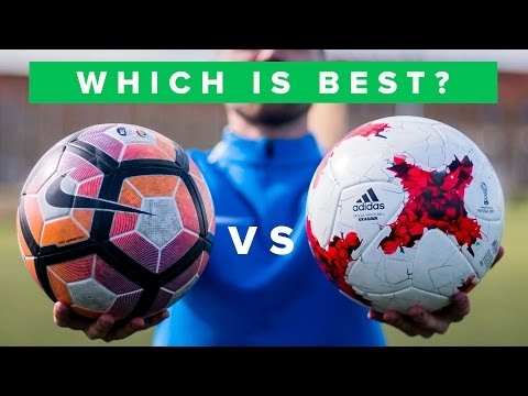 BALL REVIEW 2017 - NIKE vs ADIDAS   Is Ordem 4 or Krasava the best football?