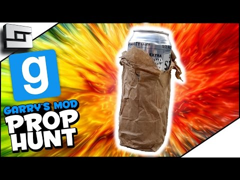 BOOZE BAGGER! (Gmod Prop Hunt Funny Moments)