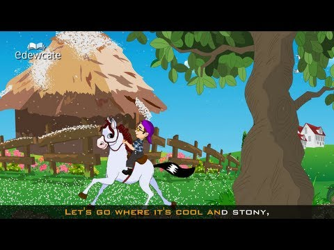 Trot Trot Trot - Horse nursery rhyme
