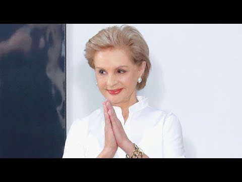 Carolina Herrera | Fashion designer | Glamour Diaries | Fashion Files