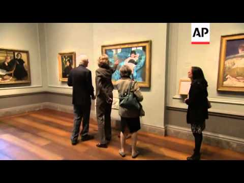 An exhibition at the National Gallery of Art pairs French painter Edgar Degas with American Impressi